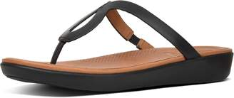 FitFlop Strata Leather Toe-Thongs