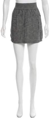 DKNY Chambray Mini Skirt