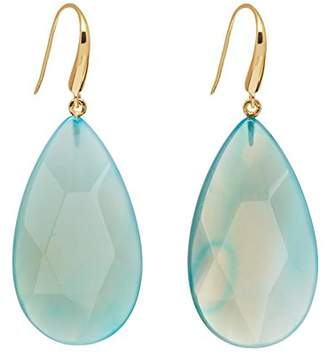 Lola Rose Women Blue Coral Agate Dangle and Drop Earrings 702119