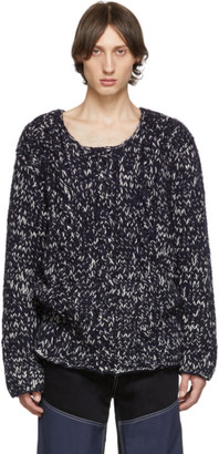 Jacquemus Navy La Maille Berger Sweater