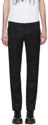 Doublet Black Cut-Off Low-Rise Trousers