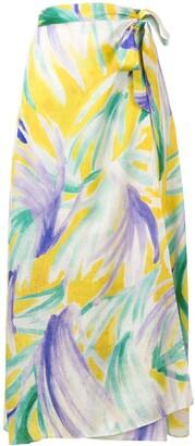Forte Forte sarong-style skirt