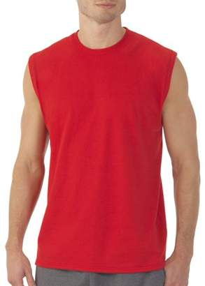 Fruit of the Loom Men's Platinum EverSoft Muscle Shirt, up to Size 4XL