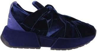 MM6 MAISON MARGIELA Blue Ribbon Sneakers