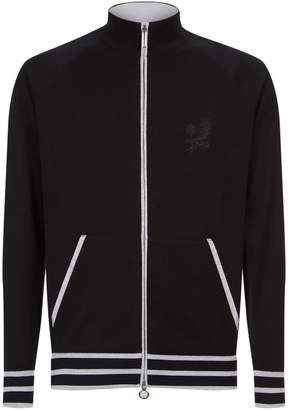 Stefano Ricci Knitted City Zip-Up Jacket