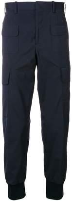 Neil Barrett pocket cuffed trousers