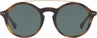 Ralph Lauren Keyhole-Bridge Sunglasses