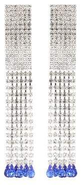 Alessandra Rich Crystal-embellished earrings