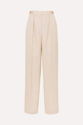 Stella McCartney Woven Wide-leg Pants - Beige