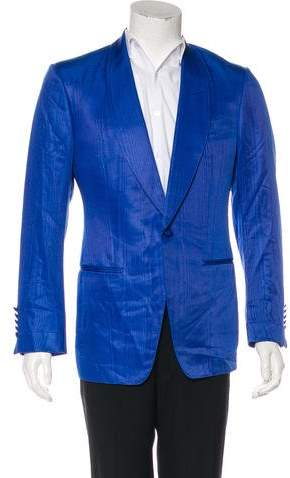 Tom Ford Patterned One-Button Blazer