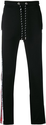 Just Cavalli side stripe track trousers