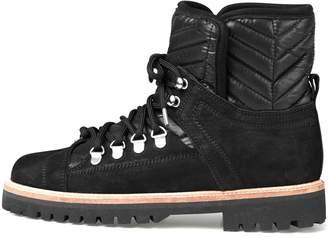 Ganni Winter Hiking Boot in Black