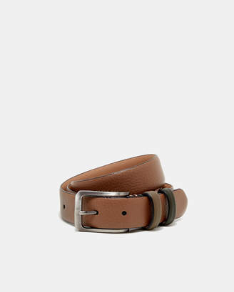 Ted Baker SHRUBS Two-tone leather belt
