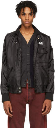 Maison Margiela Black Basic Nylon Jacket