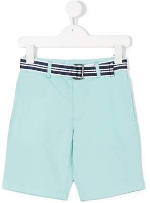 Ralph Lauren striped belted shorts