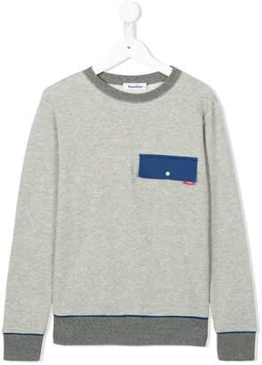 Familiar (ファミリア) - Familiar フラップポケット スウェットシャツ