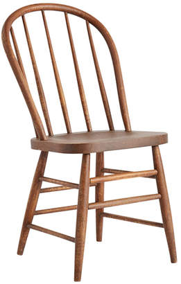 Rejuvenation Dark-Stained Kitchen Chair w/ Spindle Back