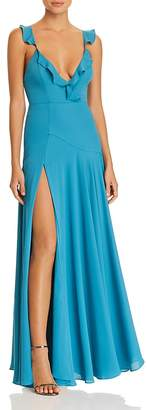 Fame & Partners Cora Plunging Gown