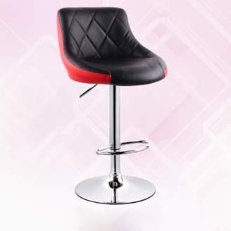 ALUS-hair / Stool ALUS- European Style Bar hair Lift Bar Stool Modern Minimalist Bar with high hair Bakrest Stool High Stool (olor : )