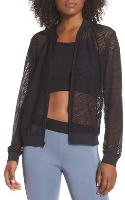 Koral Base Mesh Bomber Jacket