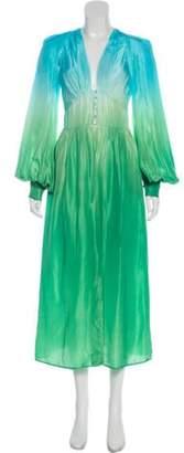 ATTICO Ombre Maxi Dress Ombre Maxi Dress