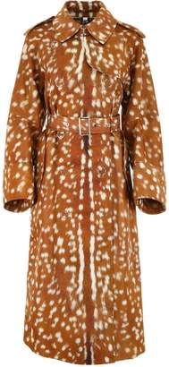 Burberry Fawn Print Raincoat