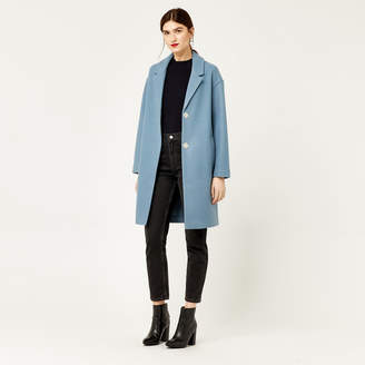 Warehouse Single Breasted Cocoon Coat