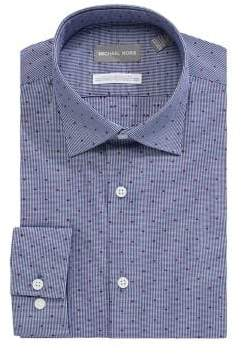 MICHAEL Michael Kors Long Sleeve Dot Button-Down Shirt