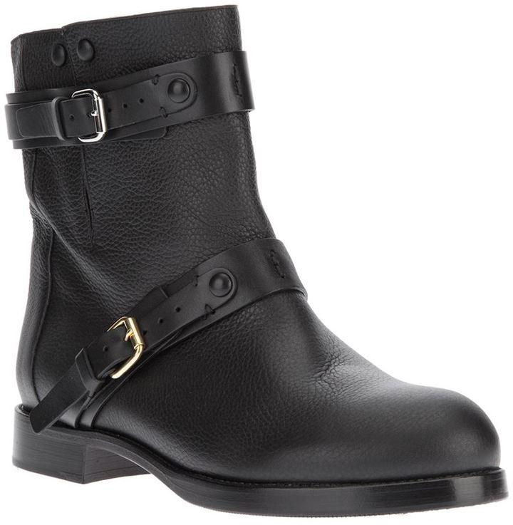 Chloé buckle boot