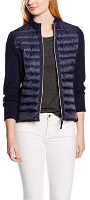 Esprit Women's Trench Long Sleeve Coat - Blue