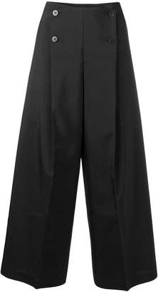 Issey Miyake 132 5. cropped buttoned trousers
