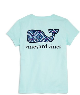 Vineyard Vines Girls' Whale Tail Pocket Tee - Big Kid $29.50 thestylecure.com
