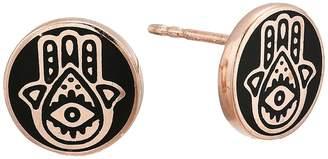 Alex and Ani Hamsa Post Earrings - Precious Metal Earring