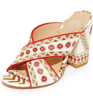 Ash Adel Mule Sandals $195 thestylecure.com