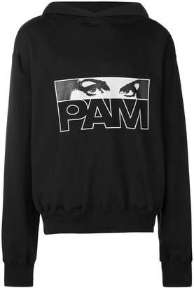 Perks And Mini Pam printed logo hoodie