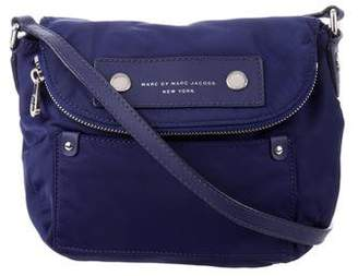 Marc by Marc Jacobs Leather-Trimmed Crossbody Bag