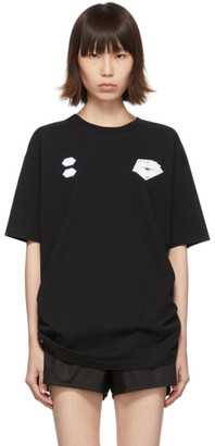 Off-White Off White Black Hand Card T-Shirt