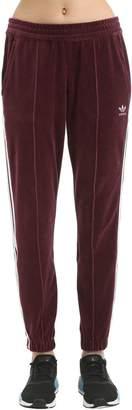adidas Soft Velvet Track Pants