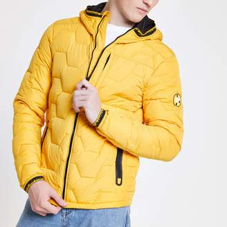 776f42ad5 Mens Yellow Quilted Jacket - ShopStyle UK