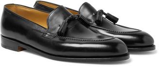 John Lobb Callington Museum Leather Tasselled Loafers - Men - Black