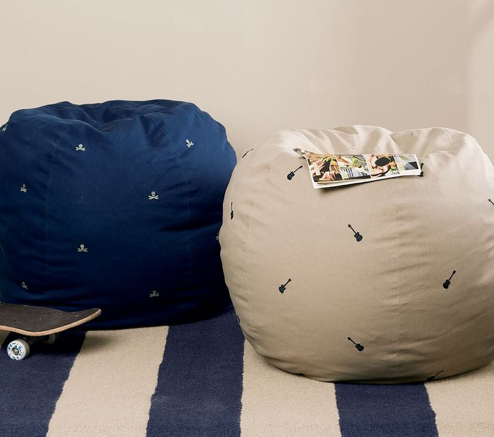 Embroidered Anywhere Beanbags