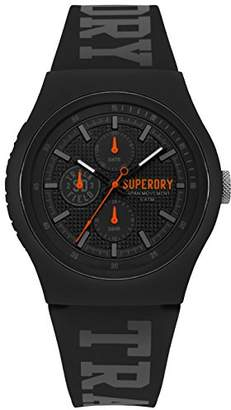 Superdry 'Urban' Quartz Plastic and Silicone Casual Watch