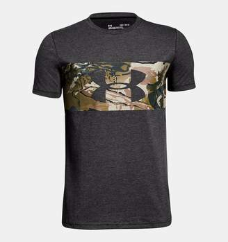 Under Armour Boys' UA Branded Camo T-Shirt