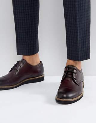 Original Penguin Plus Toe Cap Derby Shoes