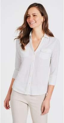 J.Mclaughlin Brynn Linen Knit Shirt