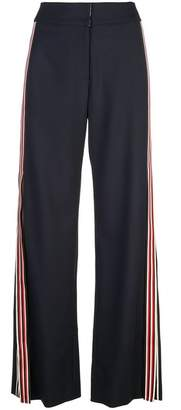 Monse Racing Stripe Wide Leg Pants