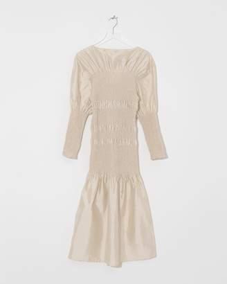 Totême Champagne Coripe Dress