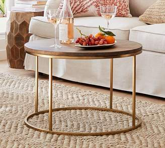 Pottery Barn Coffee Tables ShopStyle - Pottery barn leona coffee table
