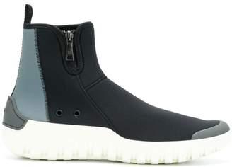 Prada Scuba high-top sneakers