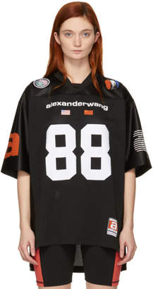 Alexander Wang Black Jersey Athletic T-Shirt